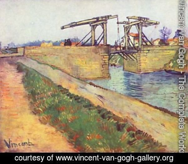 Vincent Van Gogh - The English Bridge (Le Pont de l'Anglois)