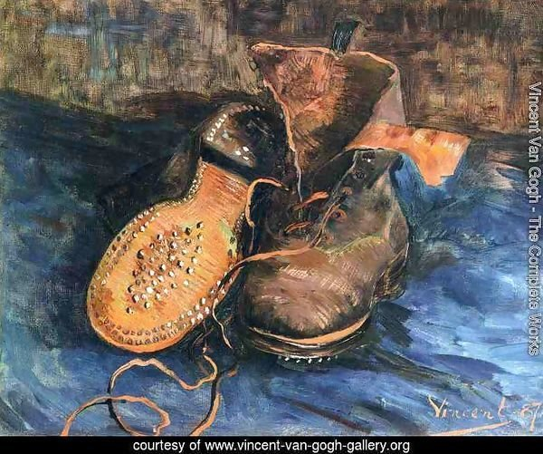 Still life, a pair of shoes