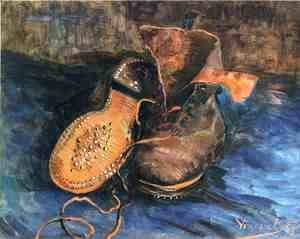 Vincent Van Gogh - Still life, a pair of shoes