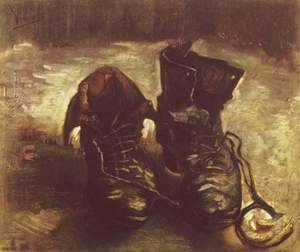 Vincent Van Gogh - Still life, a pair of shoes 2