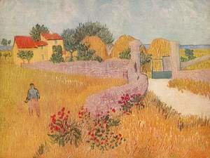 Vincent Van Gogh - Gateway to the farm