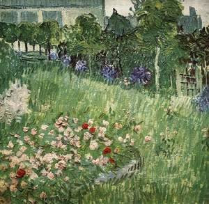 Vincent Van Gogh - Daubigny's Garden at Auvers