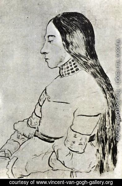 Vincent Van Gogh - The Daughter of Jacob Meyer