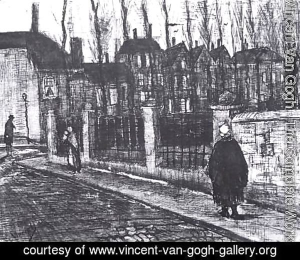 Vincent Van Gogh - The Paddemoes in The Hague