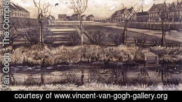 Vincent Van Gogh - Nursery Garden on Schenkweg