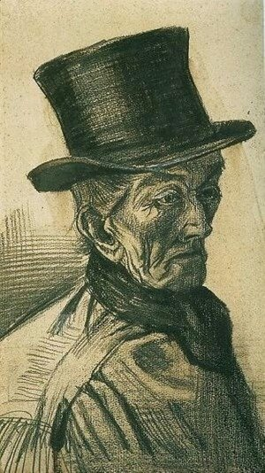 Vincent Van Gogh - Man with Top Hat