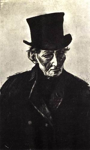 Vincent Van Gogh - Old Man with Top Hat