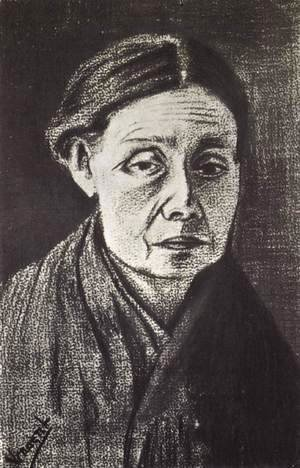 Vincent Van Gogh - Portrait of a Woman, Half-Length