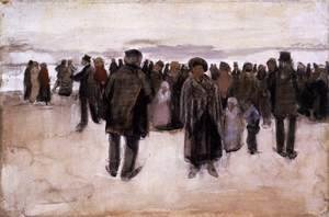 Vincent Van Gogh - Beach at Scheveningen 2