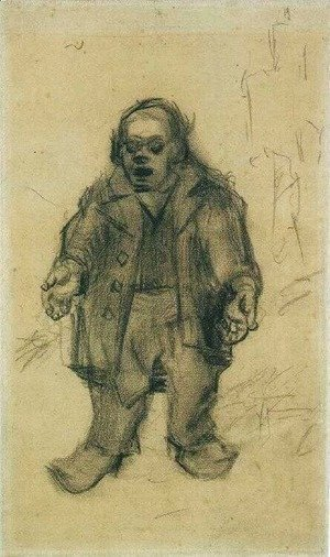 Vincent Van Gogh - Stocky Man