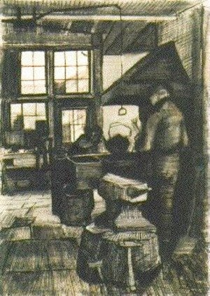 Vincent Van Gogh - Blacksmith Shop
