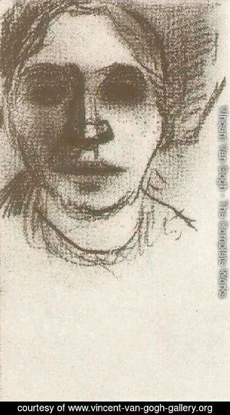 Vincent Van Gogh - Peasant Woman, Head 2