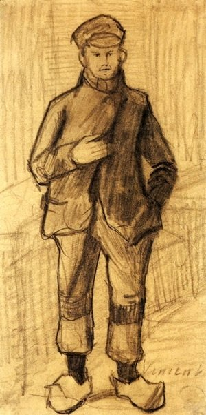 Vincent Van Gogh - Boy with Cap and Clogs