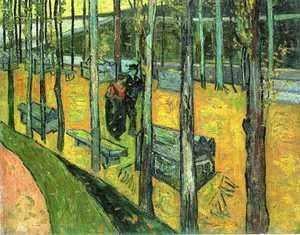 Vincent Van Gogh - Alychamps, Autumn