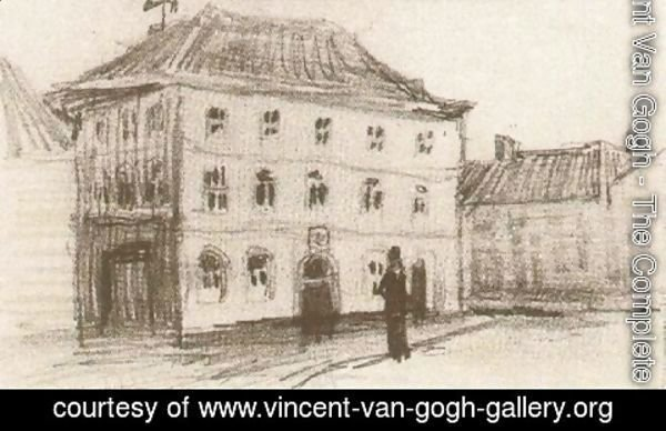 Vincent Van Gogh - Building in Eindhoven (the Weigh-House)