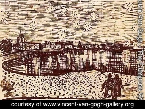 Vincent Van Gogh - The Starry Night 2