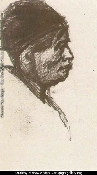 Head of a Man with Cap
