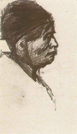 Vincent Van Gogh - Head of a Man with Cap