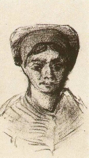 Vincent Van Gogh - Peasant Woman, Head 3