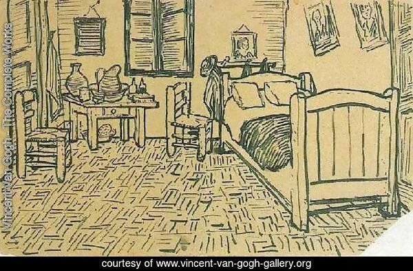 Vincent's Bedroom in Arles 2