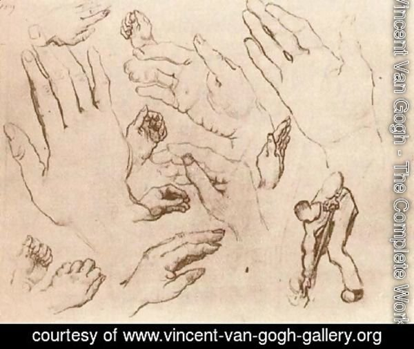 Vincent Van Gogh - Hands