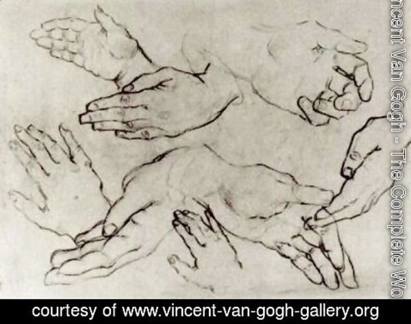 Vincent Van Gogh - Hands 2