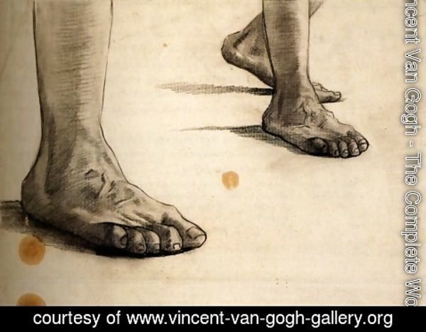 Vincent Van Gogh - Feet