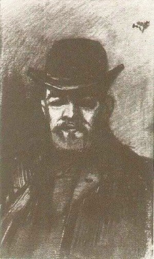 Vincent Van Gogh - Man with Bowler