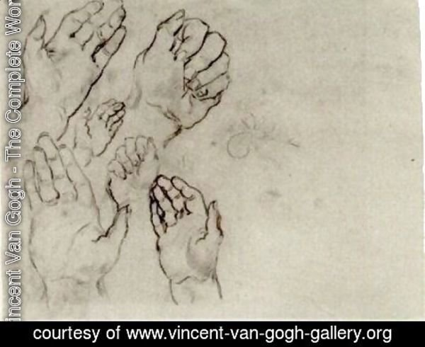 Vincent Van Gogh - Hands 3