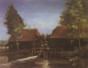 Vincent Van Gogh - Watermill in Kollen, near Nuenen