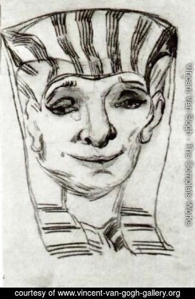 Vincent Van Gogh - Mask of an Egyptian Mummy