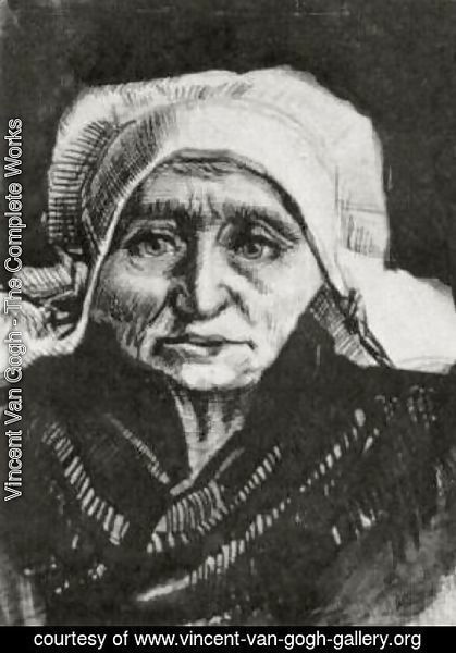 Vincent Van Gogh - Peasant Woman, Head 4