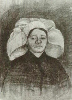 Vincent Van Gogh - Peasant Woman, Head 5