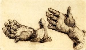 Vincent Van Gogh - Two Hands 2
