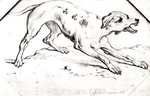 Vincent Van Gogh - Dog 2
