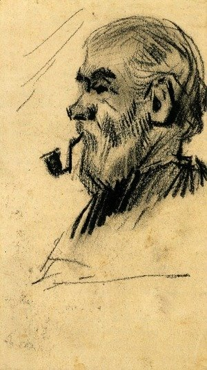 Vincent Van Gogh - Head of an Old Man