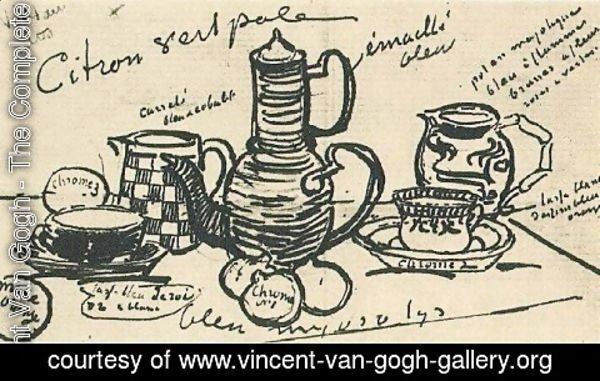 Vincent Van Gogh - Still Life with Coffee Pot