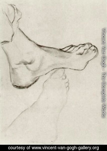 Vincent Van Gogh - Feet 2