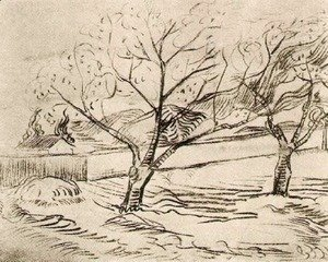 Vincent Van Gogh - Two Trees