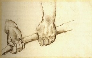 Vincent Van Gogh - Two Hands with a Stick
