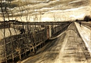 Vincent Van Gogh - Country Road