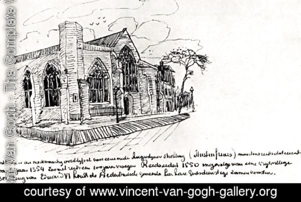 Vincent Van Gogh - Austin Friars Church, London