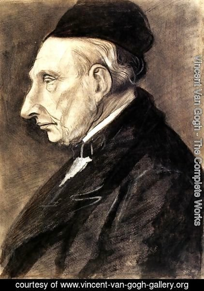 Vincent Van Gogh - Portrait of Vincent van Gogh, the Artist s Grandfather