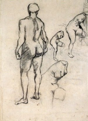 Vincent Van Gogh - Idol and Sketches of Venus
