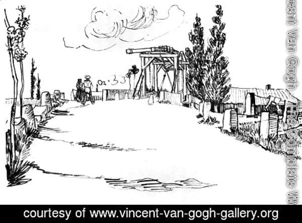 Vincent Van Gogh - The Langlois Bridge at Arles 3