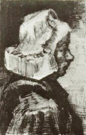 Vincent Van Gogh - Peasant Woman, Head 7