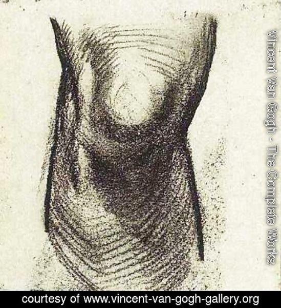 Vincent Van Gogh The Complete Works Sketch Of A Knee 2