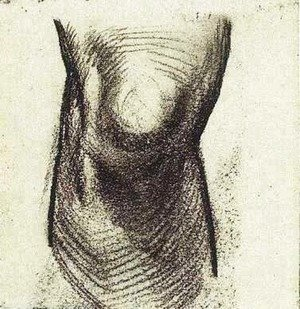 Vincent Van Gogh - Sketch of a Knee 2