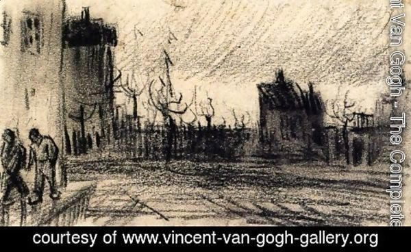 Vincent Van Gogh - City View
