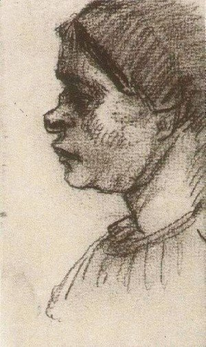 Vincent Van Gogh - Peasant Woman, Head 9